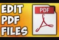 5 Ways to Edit PDF File Change Writing Easily As You Wish